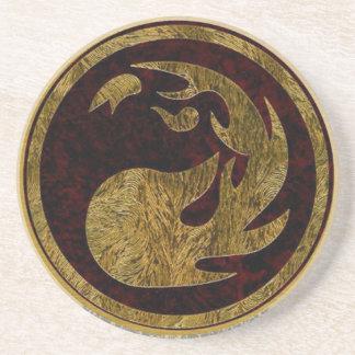 Coaster Red Mana Symbol