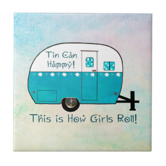 COASTER | Retro Camper | Tile | Personalize It!