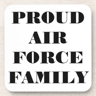 Coaster Set Proud Air Force Family
