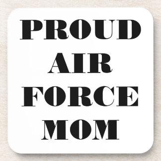 Coaster Set Proud Air Force Mom