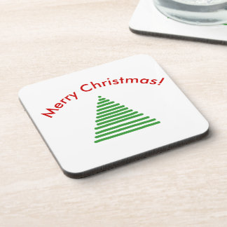 Coaster Set - Stylized Tree with Curved Text