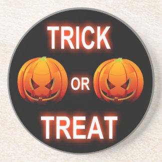 Coaster Trick Or Treat Pumpkins