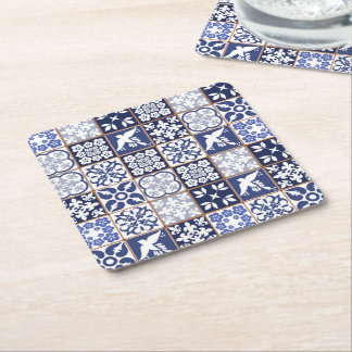 Coaster with Azulejos pattern