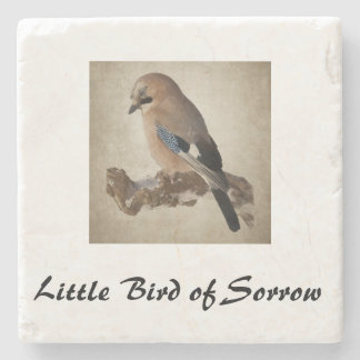 Coaster with bird
