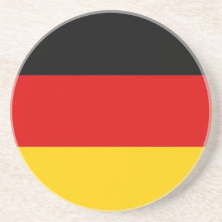Coaster with Flag of Germany