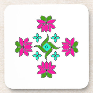 Coasters-Flower Series#80 Drink Coasters