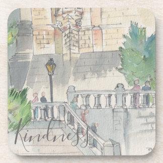 "Coasters ""France Watercolor """