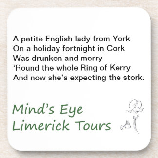 Coasters from Mind's Eye Limerick Tours