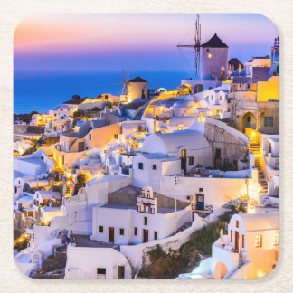 Coasters Oia Santorini Greece
