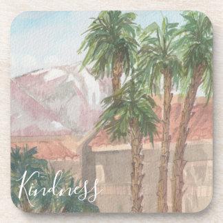 "Coasters ""Palm Springs Watercolor Sketch"""