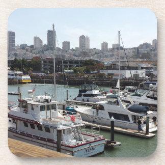 Coasters set of 6 San Francisco Bay View custom