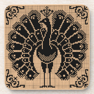 Coasters - T'giving Turkey Vintage Design