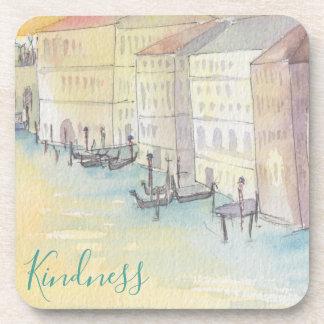 """Coasters """"Venice Watercolor Sketch """""""