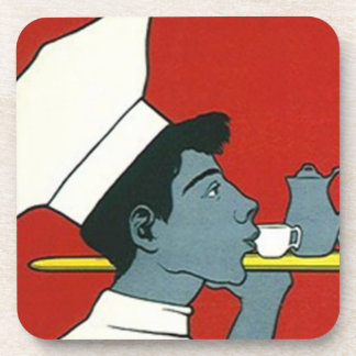 Coasters Vintage Advertising Cocoa Chocolate chef