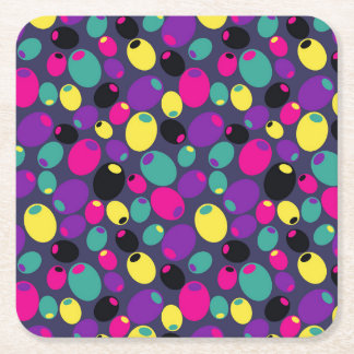 """Coasters with cheery """"Olives"""" design"""