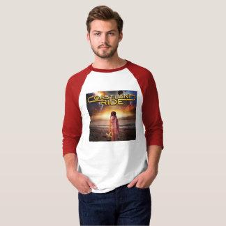 Coastland Ride - Distance CD cover T-Shirt