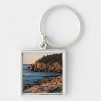 Coastline of Acadia National Park , Maine Key Ring