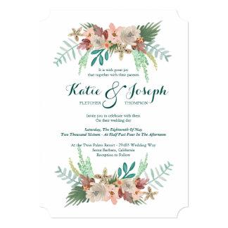 Coastline Winter Wedding Card