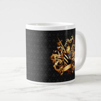 Coat of Arms 20 Oz Large Ceramic Coffee Mug Jumbo Mug