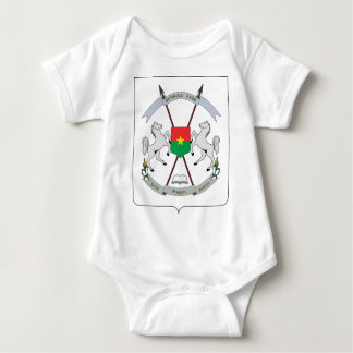 Coat of Arms Burkina Faso - Armoiries Burkina Faso Baby Bodysuit