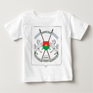 Coat of Arms Burkina Faso - Armoiries Burkina Faso Baby T-Shirt