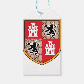 Coat Of Arms Castle Lions Gift Tags