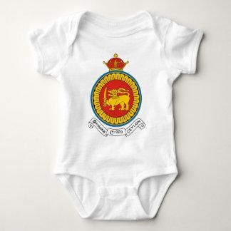 Coat_of_Arms_Ceylon_dominion Baby Bodysuit