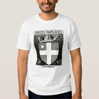 Coat of Arms, Chambery France T Shirts