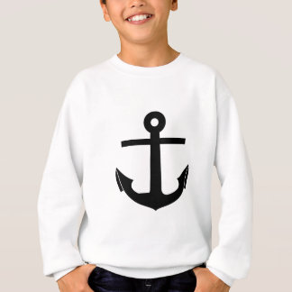 Coat Of Arms Crest Flag Swiss Key Emblem Anchor Sweatshirt