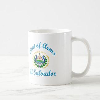 Coat Of Arms El Salvador Coffee Mug