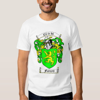Coat of Arms - FARRELL (namebanner) T-shirt