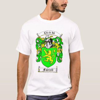 Coat of Arms - FARRELL (namebanner) T-Shirt