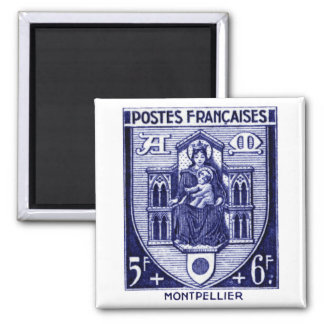 Coat of Arms, Montpellier France Refrigerator Magnets