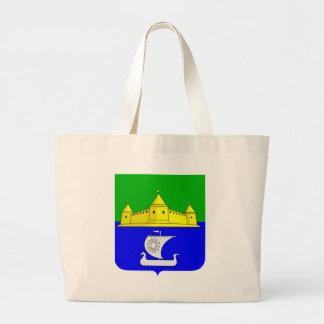 Coat_of_arms_Morozova_(Leningrad_oblast) Large Tote Bag