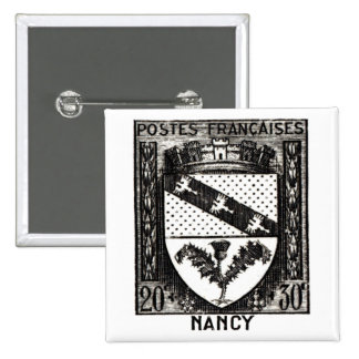 Coat of Arms, Nancy France 15 Cm Square Badge