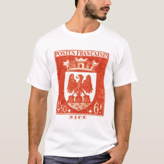 Coat of Arms, Nice France T-Shirt