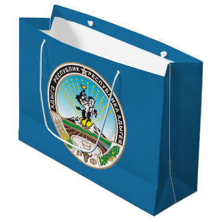 Coat of arms of Adygea Large Gift Bag