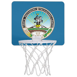 Coat of arms of Adygea Mini Basketball Hoop