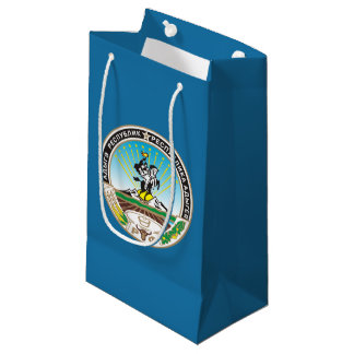 Coat of arms of Adygea Small Gift Bag