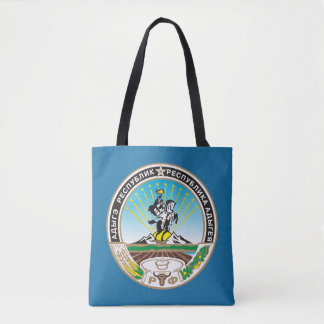 Coat of arms of Adygea Tote Bag