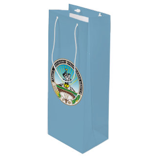 Coat of arms of Adygea Wine Gift Bag