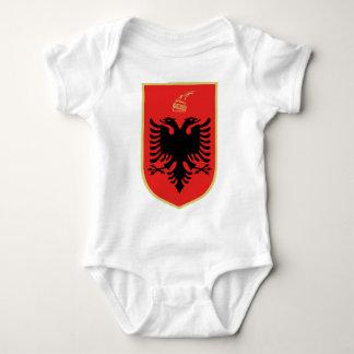 Coat of Arms of Albania Baby Bodysuit