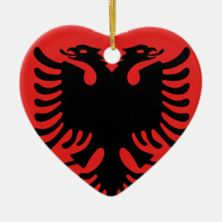 Coat of Arms of Albania Ceramic Ornament