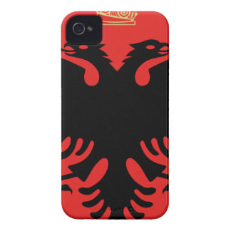 Coat of Arms of Albania iPhone 4 Case-Mate Case