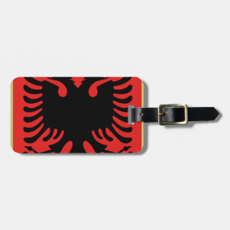 Coat of Arms of Albania Luggage Tag