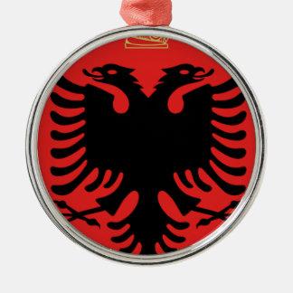 Coat of Arms of Albania Metal Ornament