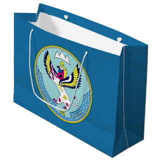 Coat of arms of Altai Large Gift Bag