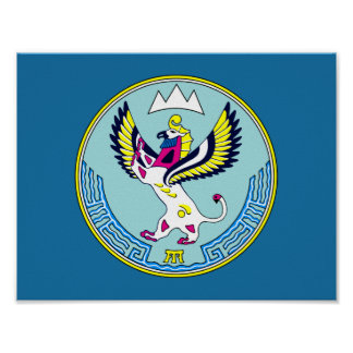 Coat of arms of Altai Poster