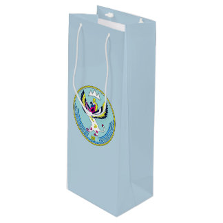 Coat of arms of Altai Wine Gift Bag