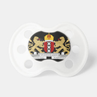 Coat of arms of Amsterdam Baby Pacifiers